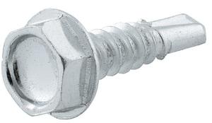 FNW® #10 x 1-1/2 in. Steel Hex Washer Head Screw 50 Pack FNWTEKHWZ10112
