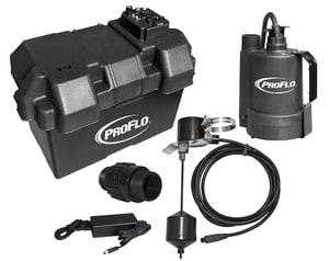 PROFLO® 12V Battery Back Up Pump Only Kit PF92910