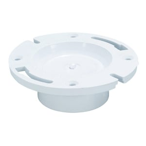Water-Tite 3 - 4 in. PVC Knockout Closet Flange I86130