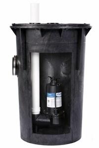 PROFLO® 1/2 HP Simplex Sew Pump Kit With Pf93501 Pump PF93015