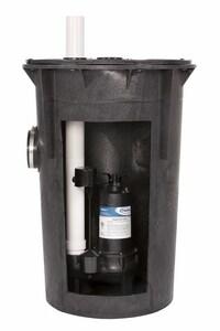 PROFLO® 2 in. 1/2 hp 80 gpm 120V Aluminum Simplex Sewage Pump Kit with PF93511 Pump PF93020