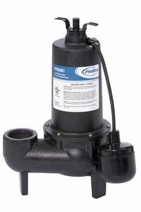 PROFLO® 1/2 HP Cast Iron Sewage Pump With Float Switch PF93501
