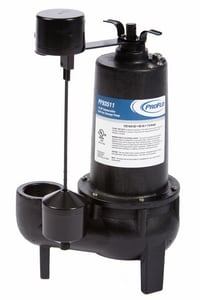 PROFLO® 1/2 HP Cast Iron Sewage Pump With Vertical Switch PF93511
