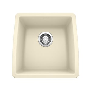 Blanco America Performa™ 17-1/2 x 17 x 9 in. Undermount Single Bowl Sink Biscuit B440080