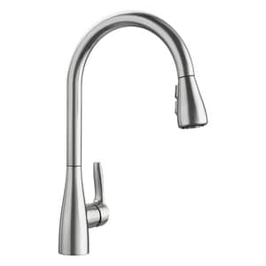 Blanco America Atura™ 1.5 gpm 1-Hole Deck Mount Kitchen Faucet with Single Lever Handle in Stainless Steel B442208