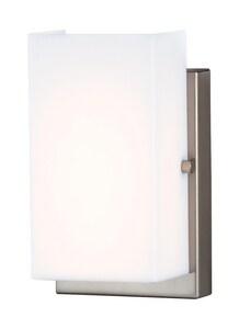 Generation Lighting Vandeventer 11W Wall Mount LED Bath Light in Brushed Nickel GL4122991S962