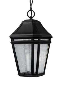Feiss Londontowne 14W 1-Light Integrated LED Outdoor Pendant in Black GLOL11309BKLED