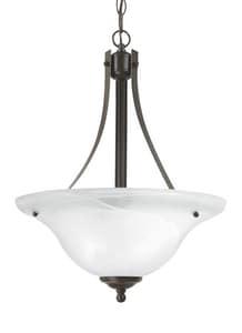 Generation Lighting Sea Gull 100 W 2-Light Medium Pendant in Heirloom Bronze GL65941782