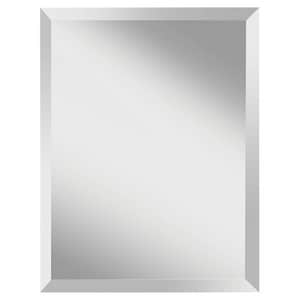 Feiss Infinity 28 x 22 in. Frameless Rectangle Mirror in Clear GLMR1152