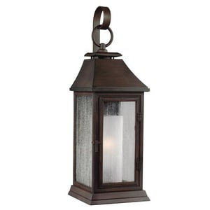 Generation Lighting Feiss 7-1/4 in. Medium E-26 Base Wall Sconce in Heritage Copper GLOL10600HTCP