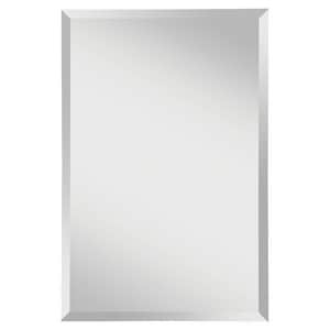 Feiss Infinity 36 x 24 in. Frameless Rectangle Mirror in Clear GLMR1154