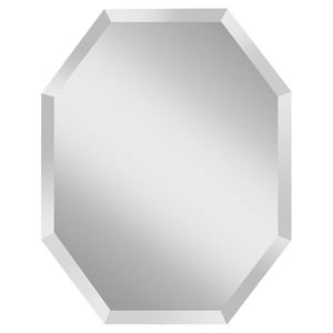 Feiss Infinity 30 x 30 in. Frameless Round Mirror in Clear GLMR1155