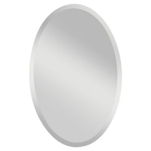 Feiss Infinity 36 in. Oval Mirror in Clear GLMR1153
