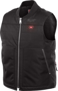 Milwaukee M12™ XL Size Heavy Duty Warm Heated Polyester Vest Only in Black M271B20