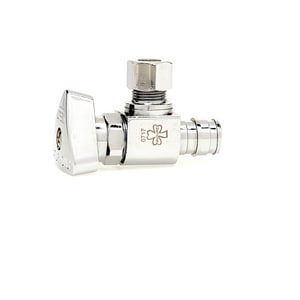 McGuire Manufacturing Convertible™ II 1/2 in x 3/8 in Loose Key Handle Angle Supply Stop Valve MLFBV2-6X53