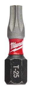 Milwaukee SHOCKWAVE™ 1/4 x 1/4 x 1/4 in. Hex Torx® 25 Piece M48324736