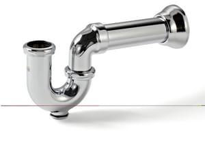 McGuire Manufacturing 1-1/2 in. Cast Brass P-Trap M8090CBOS6