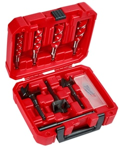 Milwaukee 7-Piece Plumbers Selfeed Bit Kit M49220065 at Pollardwater