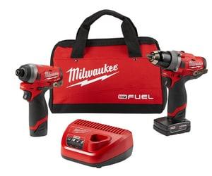 Milwaukee® M12 FUEL™ Cordless 12V 2 Tool Kit M259622