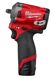 Milwaukee M12 FUEL™ 3/8 in. Cordless 12V Stubby Impact Wrench Bare Tool M255422