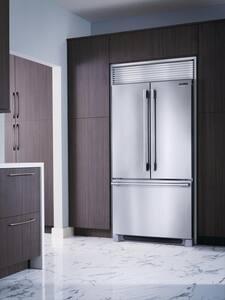 Frigidaire Professional® Series 69-7/8 x 36 in. 15.5 cf Counter Depth French Door Refrigerator in Stainless Steel FFPBG2278UF