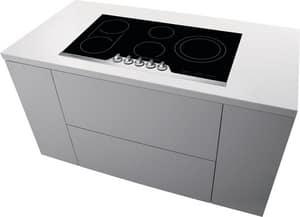 Frigidaire 36-3/4 in. 5-Burner Built-in Cooktop in Stainless Steel FFPEC3677RF