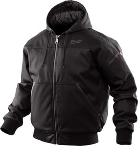 Milwaukee M12™ XXL Size Hooded Jacket in Black M252B2X