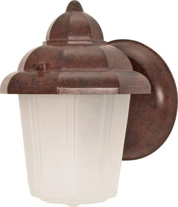 Nuvo Lighting 60 W 1-Light Medium Lantern in Old Bronze N60640