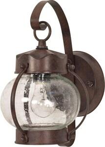 Nuvo Lighting 60 W 1-Light Medium Onion Lantern in Old Bronze N60631
