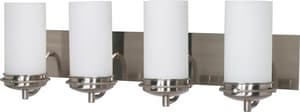 Nuvo Lighting Polaris 100W 4-Light Medium Bracket Fixture in Brushed Nickel N60614