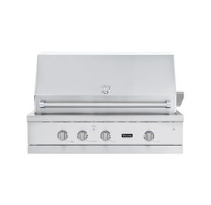Viking Range TruSear™ 27-3/4 in. Electronic Built-In Natural Gas Grill VVGIQ542241NSS