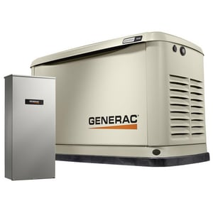Generac Power Systems Guardian® 9kW 200A Air Cooled Generator with Wi-Fi G70301