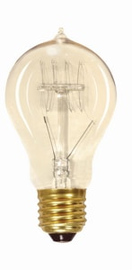 Satco 60W A19 Dimmable Incandescent Light Bulb with Medium Base SS2419