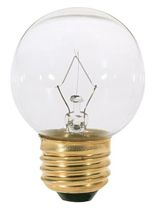 Satco 40W G16 1/2 Dimmable Incandescent Light Bulb with Medium Base SS3839