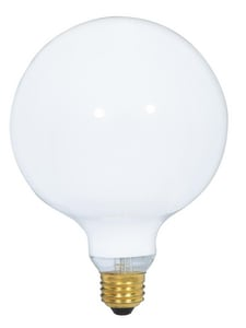 Satco 25W G40 Dimmable Incandescent Light Bulb with Medium Base SS3000
