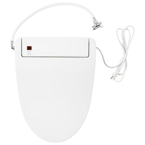 Signature Hardware Burwell Elongated Closed Front With Cover Bidet Seat In White Shbds200wh Ferguson