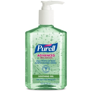 PURELL Advanced 8 oz. Hand Sanitizer Soothing Gel (Case of 12) G967412