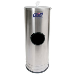 PURELL Stainless Steel Stand with Trash G9115DS1C