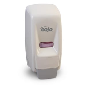 Gojo Wall Mount Bag-in-Box Dispenser in White G903412