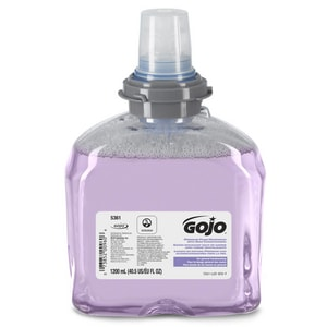GOJO TFX™ 1200ml Premium Foam Hand Wash with Skin Conditioner (Case of 2) G536102 at Pollardwater