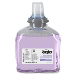 GOJO TFX™ 1200ml Premium Foam Hand Wash with Skin Conditioner (Case of 2) G536102 at Pollardwater