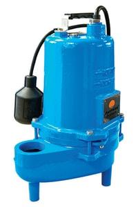 Barmesa Pumps 2BSE411 Series 4/10 hp 132 gpm FNPT Non-clog Vertical Submersible Sewage Pump B2BSE411A at Pollardwater