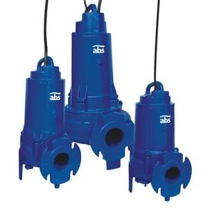 ABS Pumps Scavenger® 3 hp 450 gpm Flanged Cast Iron Horizontal Sewage Pump A08736815