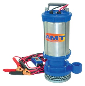 American Machine and Tool 1-1/2 in. 12V DC Submersible Dewatering Pump A5891DC at Pollardwater