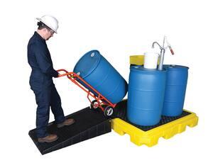 Ultratech International 75 gallon 4 Drum with Drain ULT9631 at Pollardwater