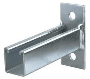 FNW® Figure 7811 12 in. 2 Hole Yellow Zinc Dichromate Single Bracket Channel FNW7811Y1200