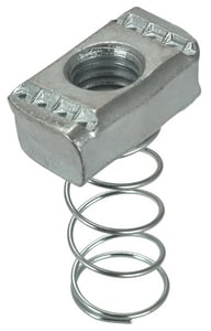 FNW® 1/4 in. Plated Channel Nut With Regular Spring FNW7821Z0025