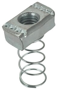 FNW® 1/2 in. Plated Channel Nut With Regular Spring FNW7821Z0050