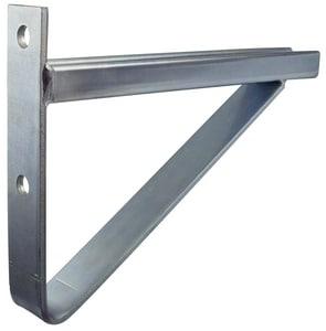 FNW® Figure 7811 24 in. 2 Hole Hot Dipped Galvanized Braced Bracket Channel FNW781145HD2400