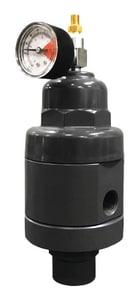 Blacoh Fluid Controls Series H10 3/8 in. PVC, Viton and PTFE Hybrid Valve BH10038VVVTL